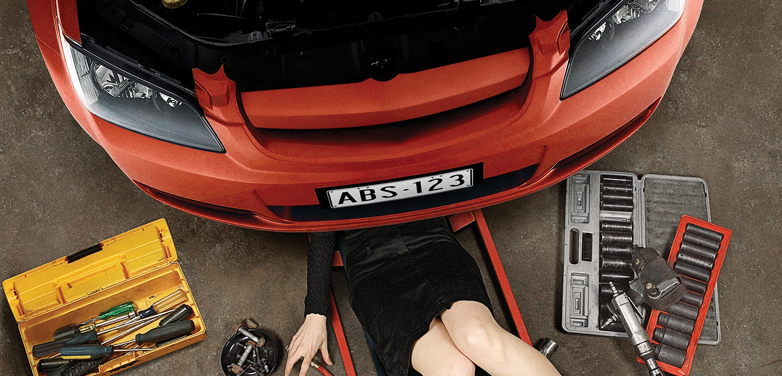 ABS Automotive - Corporate branding and implementation