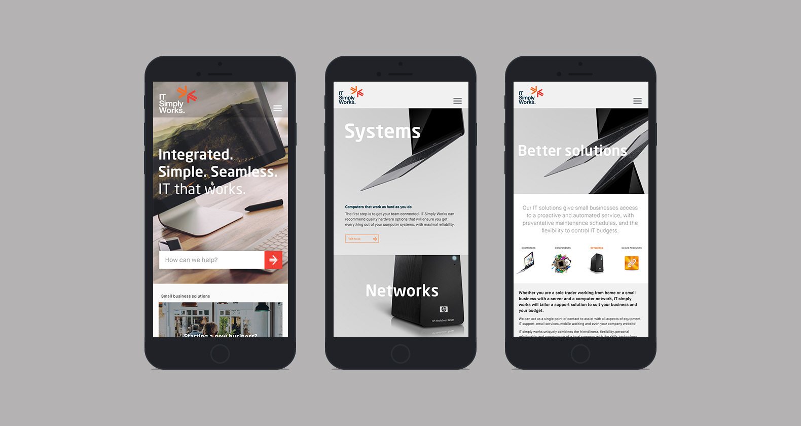 IT Simply Works - Responsive mobile web design