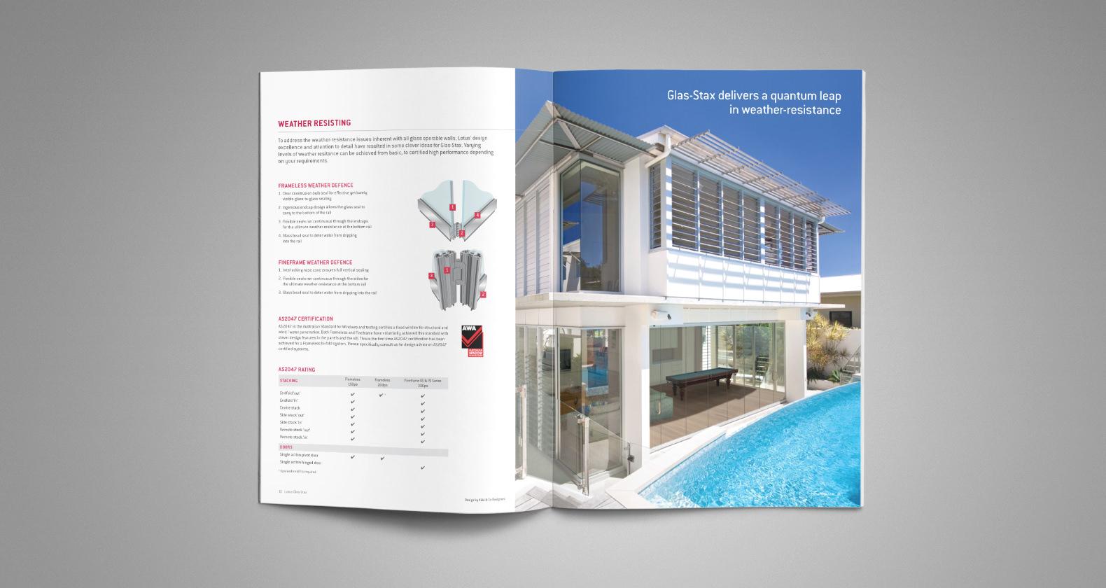 Lotus - Brochure design