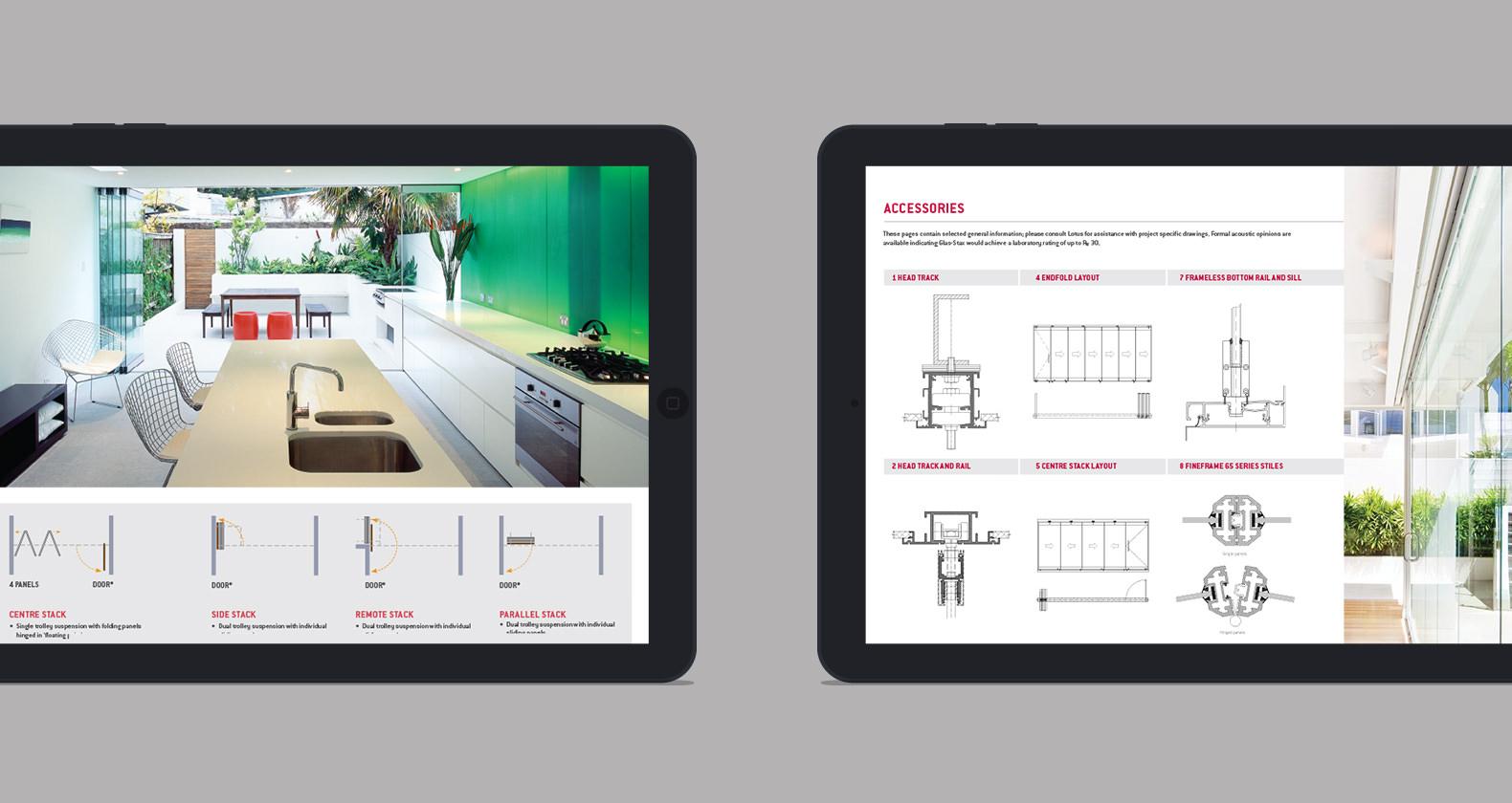 Lotus - Digital brochure design