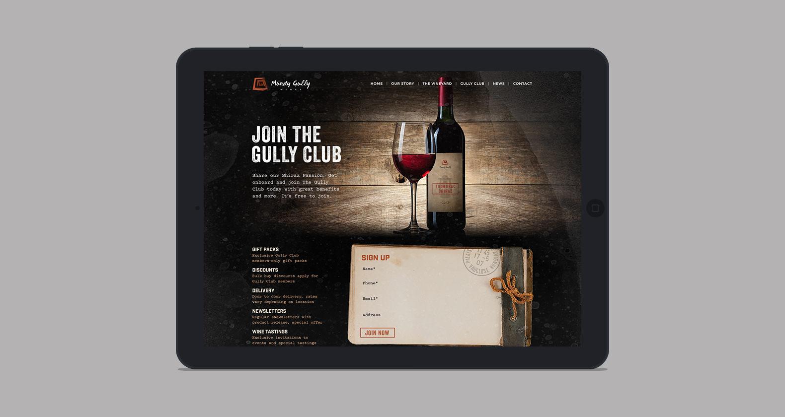 Mundy Gully - Web design, web development