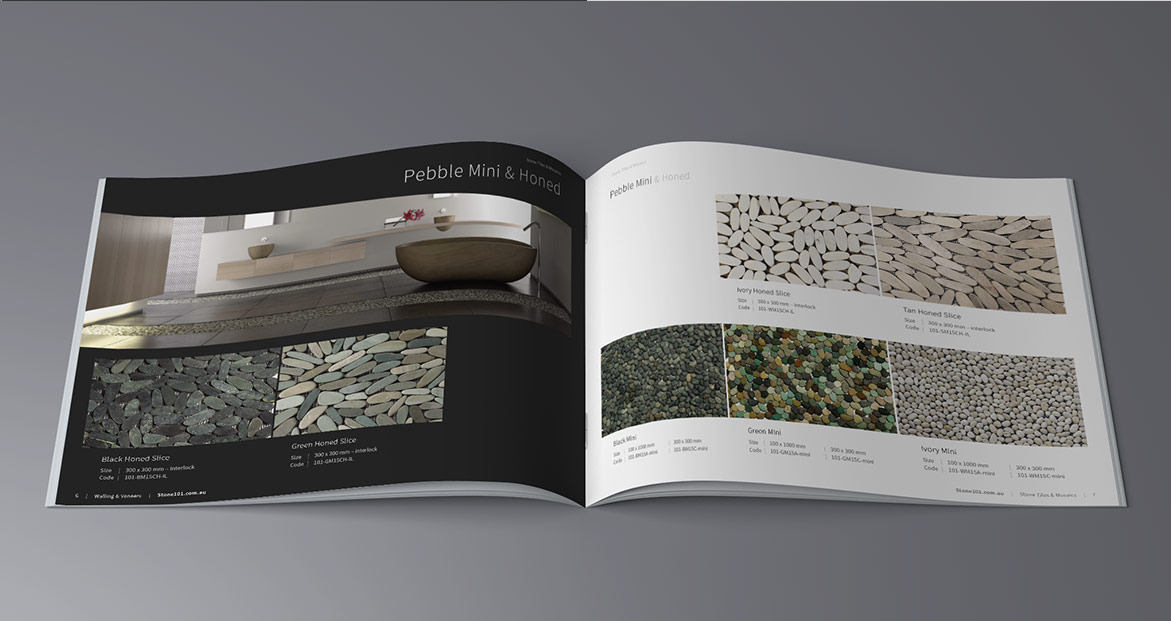 Stone 101 product brochure