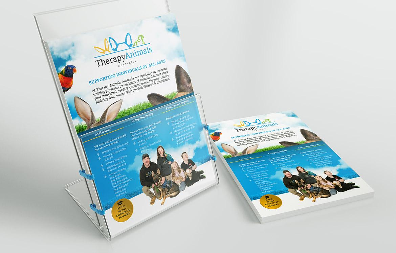 A4 promotional flyer design & print