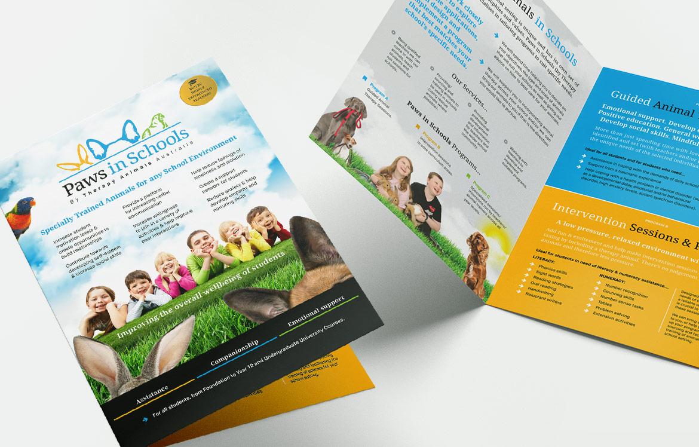 Promotional flyer design