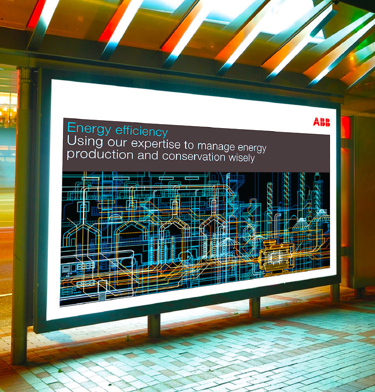ABB Australia - brand implementation through advertising
