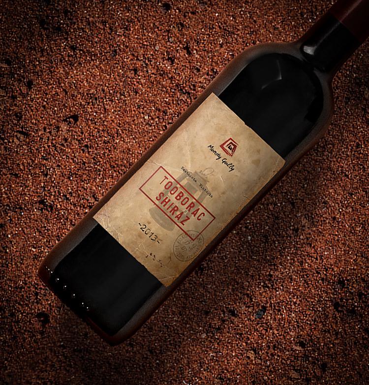 Mundy Gully - Wine bottle packaging design